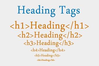 استفاده صحیح از تگ هدینگ - طراحی سایت