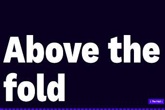 اصطلاح Fold در طراحی سایت
