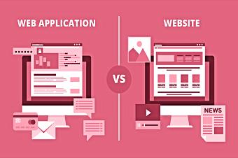 تفاوت وب اپلیکیشن با وب سایت-طراحی سایت