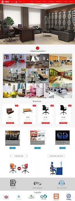 طراحی سایت فروشگاهی نیلپر