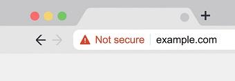 هشدار not secure-طراحی سایت