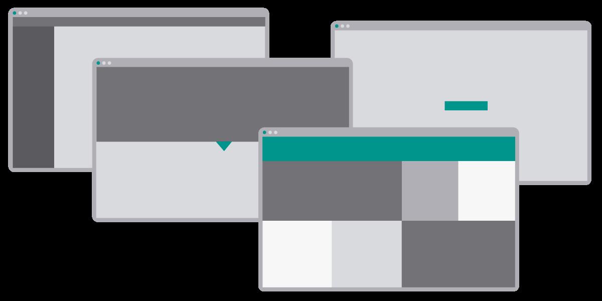 تجربه کاربری عالی با چهار الگوی خلاقانه طراحی منو سایت