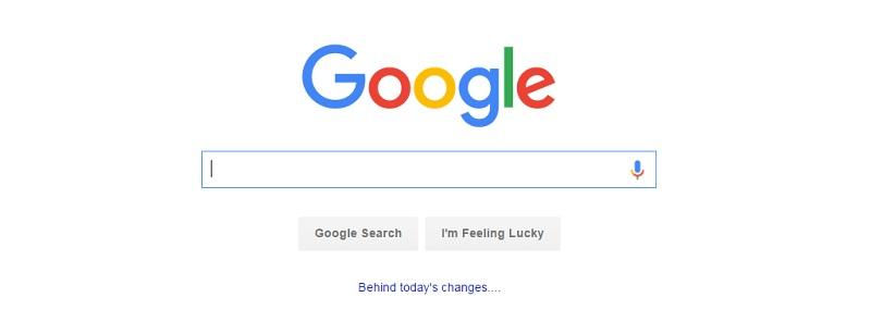تغییر طراحی لگو گوگل