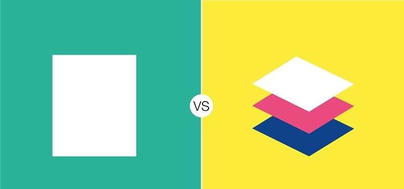 طراحی تخت در مقابل طراحی متریال:  تفاوت آنها چیست؟