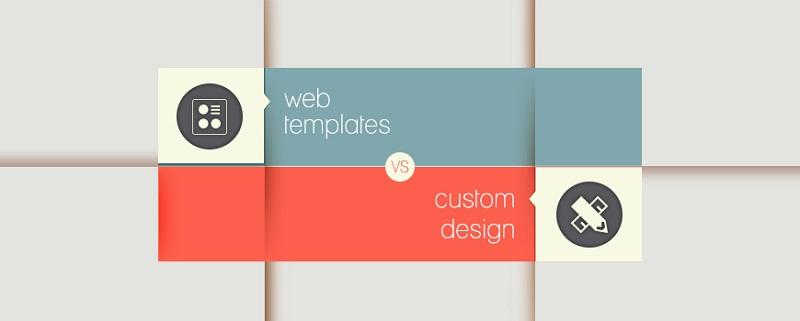 طراحی سفارشی سایت یا استفاده از قالب آماده؟