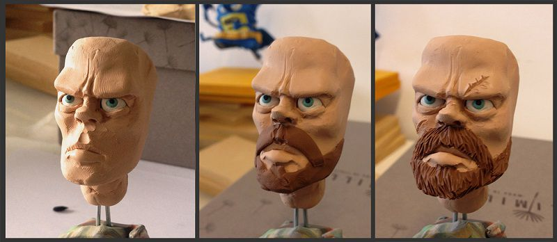طراحی سه بعدی: مجسمه  تاریون لنستر