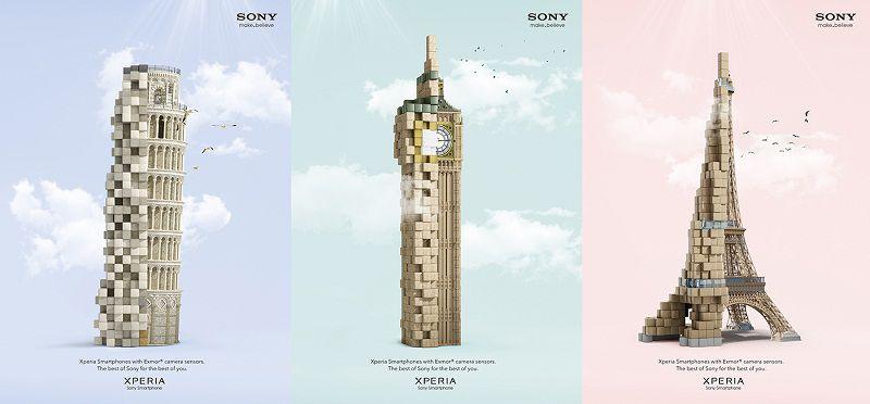 طراحی سه بعدی : پروژه برج های سونی