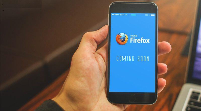 موزیلا از اولین مرورگر فایرفاکس برای آی فون  اپل پرده برداری کرد