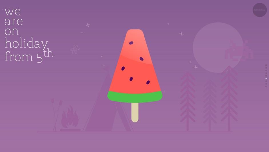 نمونه هایی از سبک تصویر سازی در طراحی وب سایت بخش اول