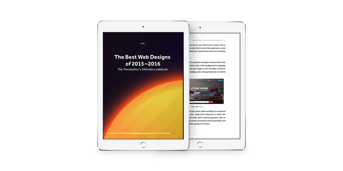 کتاب طراحی سایت: بهترین وب سایت های طراحی شده 2015-2016