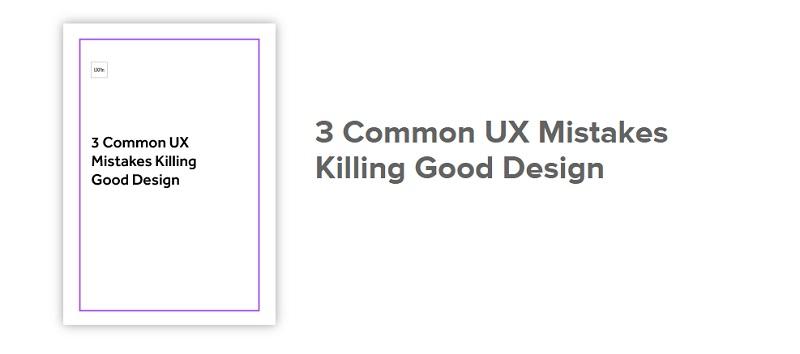 کتاب طراحی سایت: سه اشتباه کشنده در طراحی تجربه کاربری